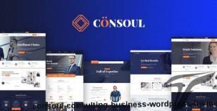 Consoul - Consulting Business WordPress Theme By themekalia