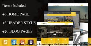 construct - Construction Corporate Business Drupal 8 Theme