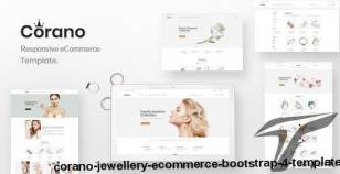 Corano – Jewellery eCommerce Bootstrap 4 Template By hastech