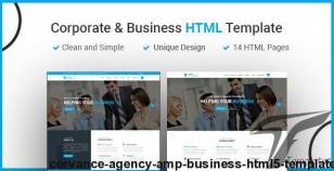 CORVANCE - Agency & Business HTML5 Template By theme_care