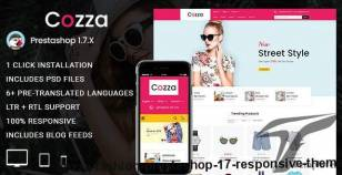 Cozza - Fashion Prestashop 1.7 Responsive Theme By ishithemes
