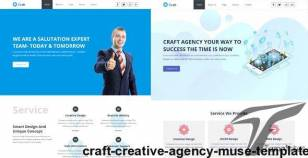 Craft- Creative Agency Muse Template By easy-tech