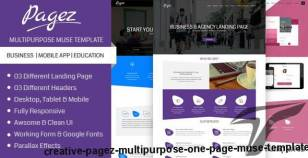Creative Pagez - Multipurpose One Page Muse Template By patrixrio