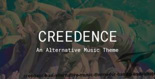 Creedence - An Alternative Music Theme for Bands and Labels By edge-themes