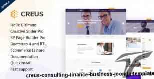 Creus - Consulting, Finance, Business Joomla Template By payothemes