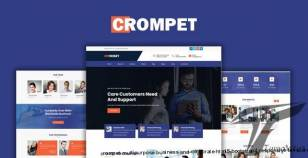 Crompet - Multipurpose Business and Corporate HTML5 Bootstrap4 Responsive Template By eforest