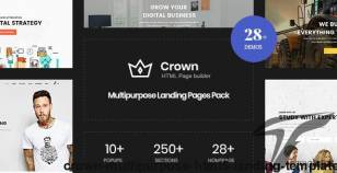 Crown | Multi-Purpose Html5 Landing Template By zytheme