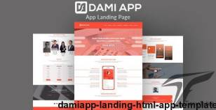 DamiApp - Landing HTML App Template By fplthemes