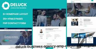 Deluck - Business Agency & Corporate Template By validthemes