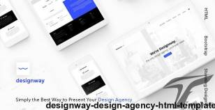 Designway — Design Agency HTML Template