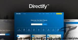 Directify | Directory, Listings and Business HTML Template By frenify