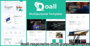 Doall - Responsive Multi Purpose Template By validthemes