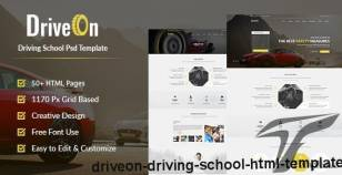 DriveOn – Driving School HTML Template By devitems
