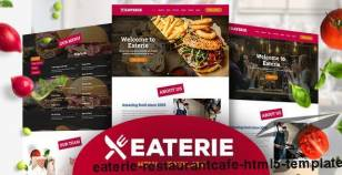 Eaterie - Restaurant/Cafe HTML5 Template By ingridk