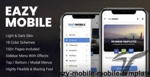 Eazy Mobile | Mobile Template By enabled