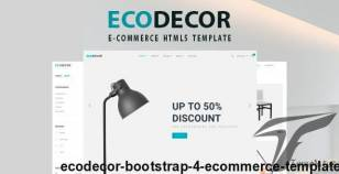 ECODECOR - Bootstrap 4 eCommerce Template By stylusvision