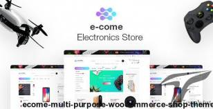 Ecome -  Multi Purpose WooCommerce Shop Theme By zankover-n
