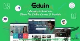 Eduin - Online Course WordPress Theme By banyantheme