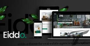Eiddo - A Theme for Real Estate Agencies and Realtors