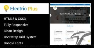 Electric Plus - Electricity Services HTML5 Responsive Template By sbtechnosoft
