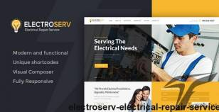 ElectroServ | Electrical Repair Service By ancorathemes