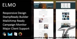 Elmo - Multipurpose Responsive Email Template + Stampready Builder By fourdinos