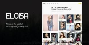 Eloisa | Photography HTML Template for Photographers By frenify