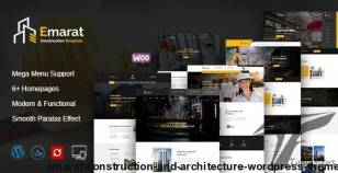 Emarat - Construction and Architecture WordPress Theme By expert-themes