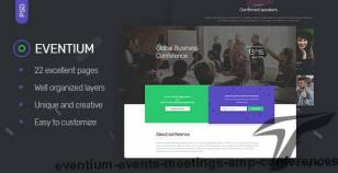 Eventium - Events, Meetings & Conferences By upifix