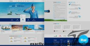 Exactly - Booking Travel Template By wpressthims