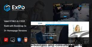 Expo - Finance, Business & Consulting HTML Template By expert-themes