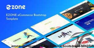 Ezone - Multipurpose eCommerce Bootstrap4 Template By codecarnival