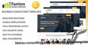 Fanton - Consulting & Business HTML Template By rocks_theme