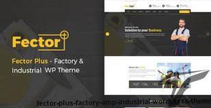 Fector Plus - Factory & Industrial WordPress Theme By prime-themes