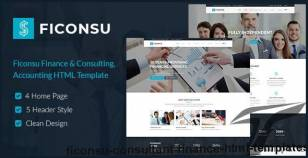 Ficonsu - Consultant Finance HTML Templates By themesflat