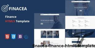 Finacea - Finance HTML5 Template By themepresss