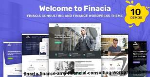 Finacia - Finance & Financial Consulting WordPress Theme By radiantthemes