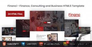 Financi - Finance, Consulting and Business HTML5 Template By xerotheme