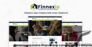 Finnexia - Responsive Finance & Consulting HTML template By quickdev