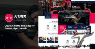 Fitner - Creative HTML Template for Gym, Fitness & Health