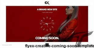 Flyex - Creative Coming Soon Template By ex-nihilo