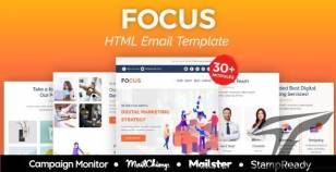 Focus Agency - Multipurpose Responsive Email Template 30+ Modules - Mailster & Mailchimp By emailstudio