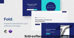 Fold - Software and App Template By ydirectionthemes