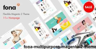 Fona - Multipurpose Magento 2 Theme By cleversoft