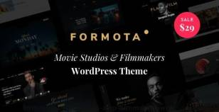 Formota - Movie Studios & Filmmakers WordPress theme By harutheme