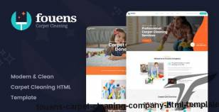Fouens - Carpet Cleaning Company HTML Template By valotheme