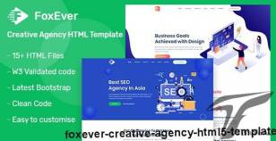 FoxEver - Creative Agency  HTML5 Template By foxcoders