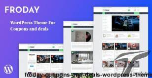 Froday – Coupons and Deals WordPress Theme By klbtheme