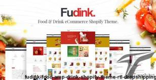 Fudink - Food & Drink Shopify Theme + RTL + Dropshipping