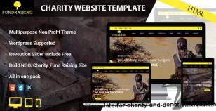 Fundraising - HTML template for charity and donation websites By layertheme